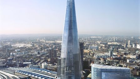 The Shard *** Local Caption *** All images and film footage used will be attributed to: Copyright o