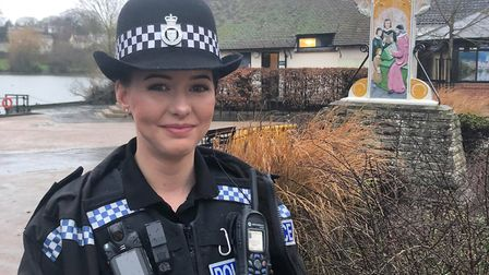South Norfolk District police officer PC Daisy Norman. Photo: Harriet Orrell