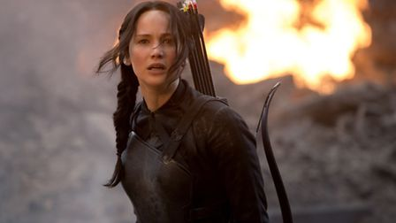 Jennifer Lawrence. in The Hunger Games: Mockingjay Part 1. This is one of the films that Odeon Cinem