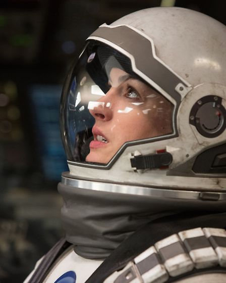 Anne Hathaway as Amelia in Christopher Nolan's blockbuster Interstellar. Would you pay more to see a