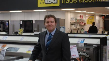 Paul Chisnall, general manager of Trade Electricals Direct (TED), part of the Hughes Electrical Gro