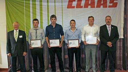 Among those graduating from Claas UK's Barony course were Jack Dixon from Rickerby and Adam Graham,