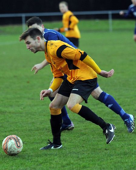 James Paterson left Mildenhall to join Bury Town earlier this month