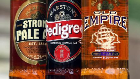 Pubs and brewing company Marston's today reported strong trading over the Christmas period.