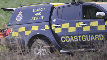 Felixstowe Coastguard Team secured a log more than 45ft from washing back out to sea.