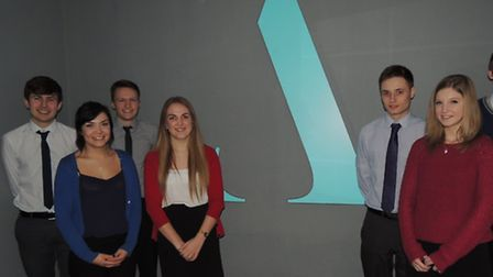 Some of the Aston Shaw apprentices