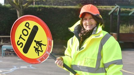 Diss has a new Lollypop Lady, Debbie Kilkenny will be patrolling for Diss Infant and Nursery School.