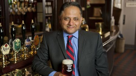 Rooney Anand, chief executive of Greene King
