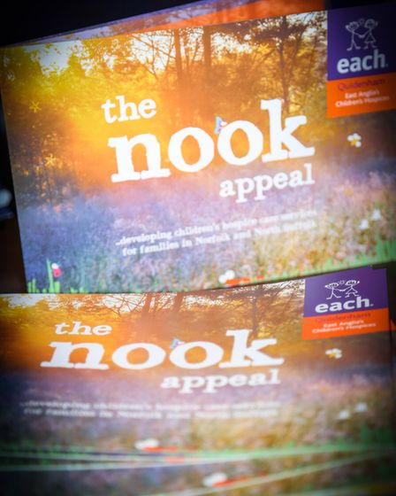 The couple raised more than 16,000 in a single night for the Nook appeal at EACH Quidenham. Photo: J