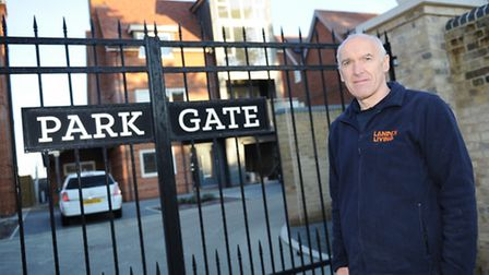 Site manager Derek Ratcliffe of Landex Living has won a national Pride in the Job Award (small build