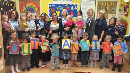 Rendlesham Day Nursery was given an outstanding rating by Ofsted inspectors