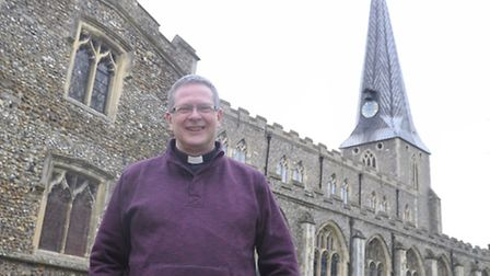 The Very Revd Martin Thrower, of St Mary's Church in Hadleigh, has said people still get married in