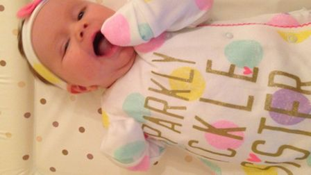 The Bannister family had to pay £50 supplement for baby Robyn, who will be 10 months old when they t