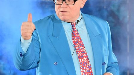 Ken Morley at the Celebrity Big Brother house. Pic: PA