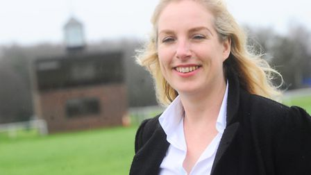 Nicola Bateman, the new chief executive of Suffolk Agricultural Association, at Trinity Park.