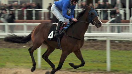 Tempus Temporis (USA) ridden by Robert Havlin at the first day of racing at Chelmsford City Racecour
