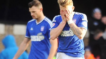 Tommy Smith and Luke Hyam, pictured following Saturday's 1-0 home defeat to Derby County