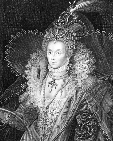 Elizabeth I of England, the most powerful woman of her time, a time when women's rights were unheard