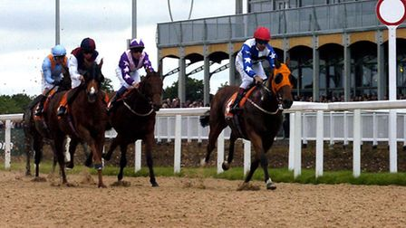 The first public meeting at Great Leighs Racecourse in May 2008. Racing retuns this weekend