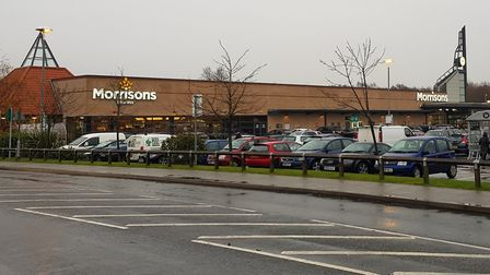 Morrisons in Diss has filed planning permission to build four retail units, a retail popcar washing