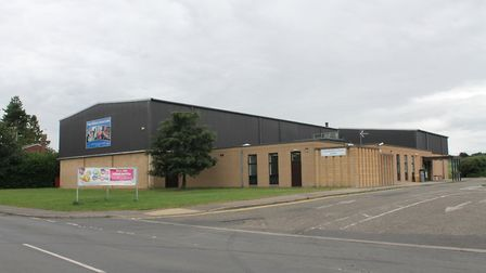 The current Long Stratton Leisure Centre