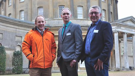 Simon Witheford, Bill Lankford and Jacob Nymand at Ickworth