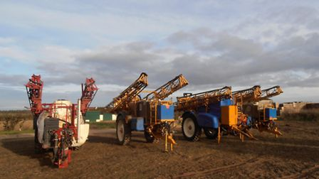 Some of the lots at the Frederick Hiam machinery sale, organised by Brown & Co.