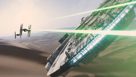 Star Wars EP VII The Force Awakens