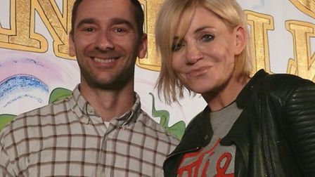 A mini-Coronation Street reunion took place at Clacton�s Princes Theatre yesterday as Michelle Colli