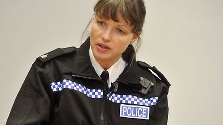 Superintendent Louisa Pepper, the police commander for the Ipswich area, talks about the recent drug