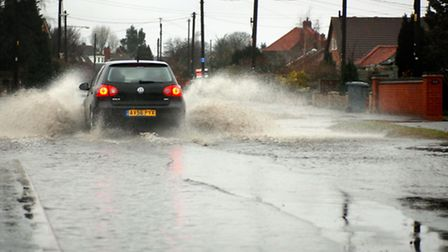 Flooding expected in parts of Suffolk