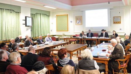 Council committee meeting and public hearing over planning applications in Framlingham.