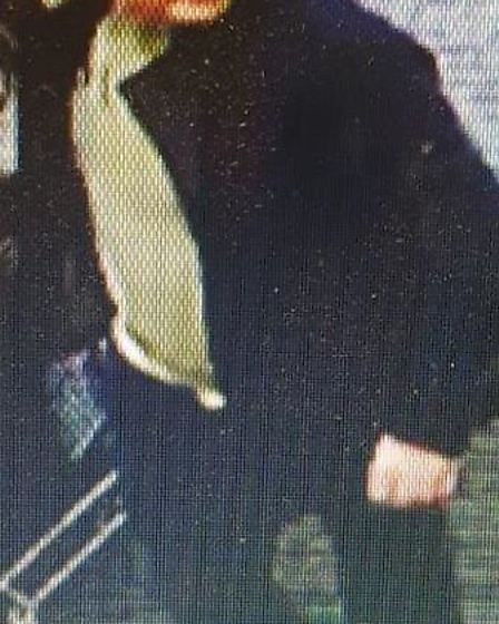 This man is suspected of shoplifting alcohol from two Co-op stores. Photo: Norfolk Constabulary