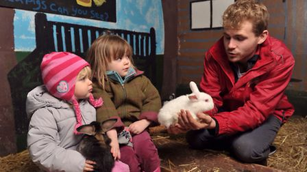 Easton Farm Park has got some new arrivals. Bunnies, lambs and baby goats have arrived in time for s
