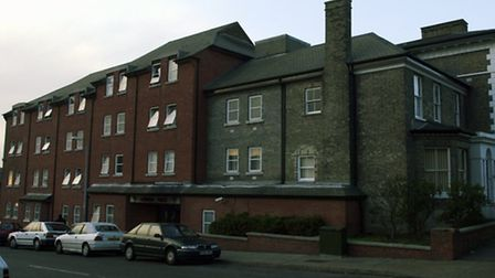 The YMCA premises at the junction of Wellington Street and Norwich Road in Ipswich.