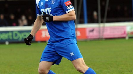 John Sands, who is set to join Leiston from Bury Town