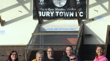 A charity bike ride is set to take place from Bury in Lancashire to Ram Meadow home of Bury Town FC.
