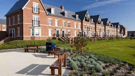 Martello Park, Felixstowe, by Bloor Homes - one of many new housing developments across the Suffolk