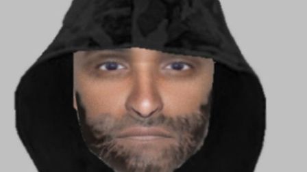 The efit image of a man police would like to talk to in connection with a rape in Maldon on January