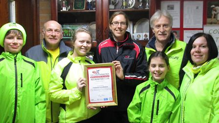 Stowmarket Striders have recently been successful in regaining Clubmark accreditation status and wer