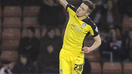 Sammie Szmodics, who scored the winner at Oldham today
