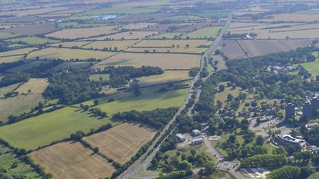 Land north of the University of Essex could be developed for 6,000 new homes.
