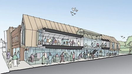 Artist's impression of The Wonderhouse in Colchester