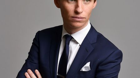 Eddie Redmayne poses for a portrait during the 87th Academy Awards nominees luncheon. The British ac