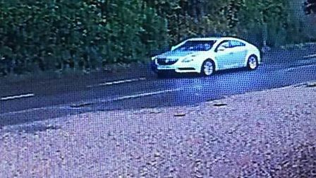 Do you recognise this car? Police are seeking information after fake £20 notes were used in south No