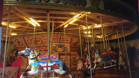 Former carousel at Walton Pier is up for auction