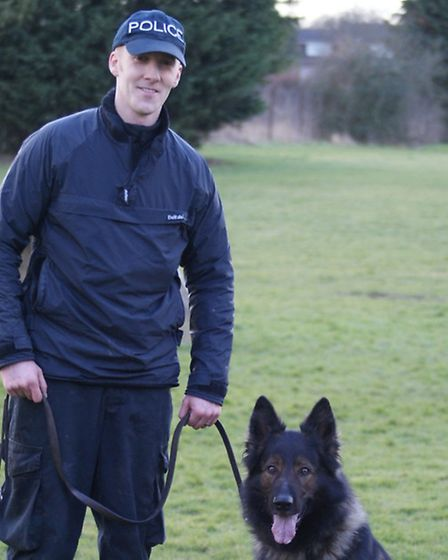 Pc Andy Gaw with Kruga