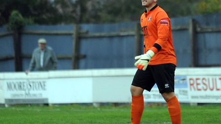 Alex Archer, who has extended his loan spell at Bury Town from Suffolk rivals AFC Sudbury
