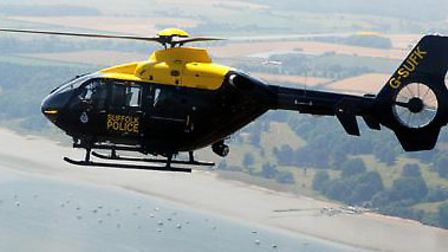The former Suffolk Constabulary helicopter