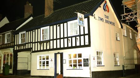 Picture of The former Two Brewers pub on St Nicholas Street, Diss. Photo: Angela Sharpe